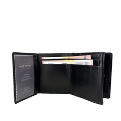 manbefair SMALL PURSE JAMIE leather black