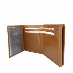 SMALL PURSE JAMIE leather cognac
