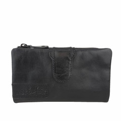 manbefair LADIES PURSE ELISA leather black