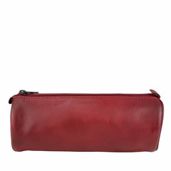 manbefair PENCIL CASE CARDIFF leather red