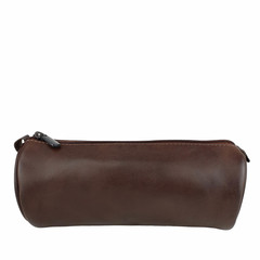 manbefair PENCIL CASE CARDIFF leather dark brown