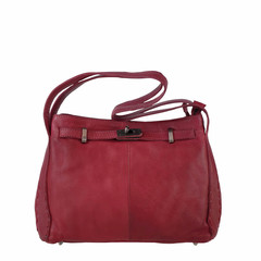 manbefair HANDBAG  AUDREY leather red