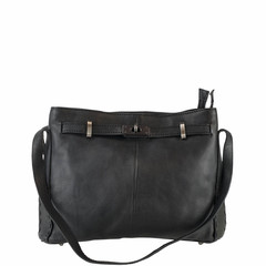 manbefair HANDBAG  AUDREY leather black