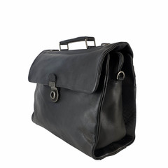 manbefair BUSINESS BAG ODIN leather black