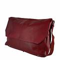 manbefair MESSENGER/LAPTOP BAG LOKI leather red