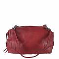 manbefair SHOULDER BAG-BOWLING BAG MERYL leather red