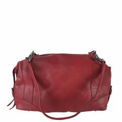 manbefair BOWLING BAG MERYL leather red
