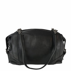manbefair SHOULDER BAG-BOWLING BAG MERYL leather black