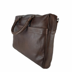 manbefair LAPTOP BAG JOAN leather dark brown