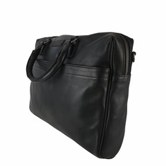 manbefair LAPTOP BAG JOAN leather black