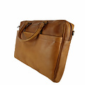 manbefair LAPTOP BAG JOAN leather cognac