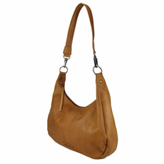 manbefair HOBO BAG CATHRINE leather cognac