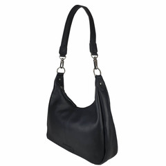 manbefair HOBO BAG CATHRINE leather black