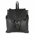 manbefair BACKPACK ROSALIE leather black