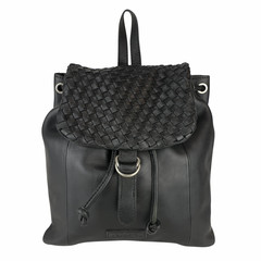 manbefair BACKPACK ROSALIE leather black