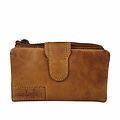 manbefair LADIES PURSE ELISA leather cognac