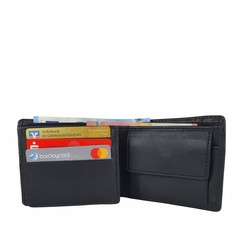 manbefair SMALL WALLET KOPENHAGEN leather black