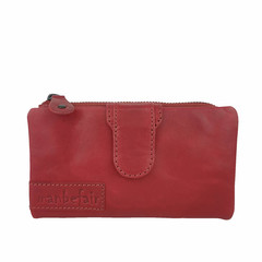 manbefair LADIES PURSE ELISA leather red