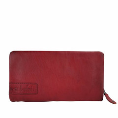 manbefair LADIES PURSE MARTA leather red