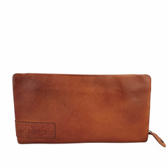 manbefair LADIES PURSE MARTA leather reddish brown