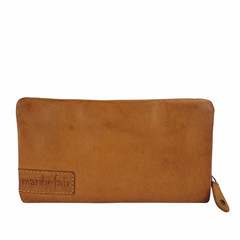 manbefair LADIES PURSE MARTA leather cognac