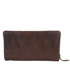 manbefair LADIES PURSE MARTA leather dark brown