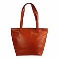 Tutto Naturale SHOPPER MAXI  leather orange