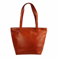 Tutto Naturale SHOPPER MAXI Leder orange