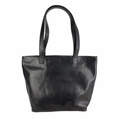 Tutto Naturale SHOPPER MAXI  leather black