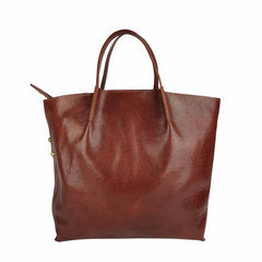 Tutto Naturale SHOPPER LINDA Leder braun
