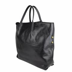 Tutto Naturale SHOPPER LINDA leather black