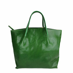 Tutto Naturale SHOPPER LINDA leather green