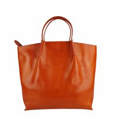 Tutto Naturale SHOPPER LINDA Leder orange