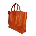 Tutto Naturale SHOPPER LINDA leather orange