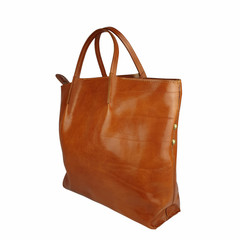 Tutto Naturale SHOPPER LINDA leather cognac