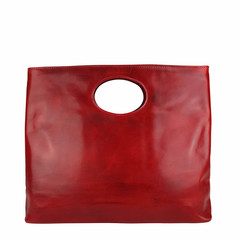 T-Nobile SHOPPER BUCO XL Leder rot