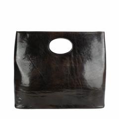 T-Nobile SHOPPER BUCO XL leather dark brown