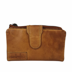 manbefair LADIES PURSE ELISA leather cognac - B-STOCK