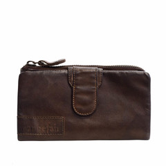 manbefair LADIES WALLET ELISA leather dark brown - B-STOCK