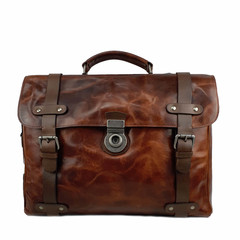 manbefair LAPTOPBAG  WINSTON leather dalian brown