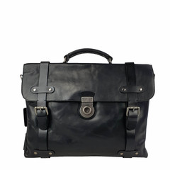 manbefair LAPTOPBAG  WINSTON leather black