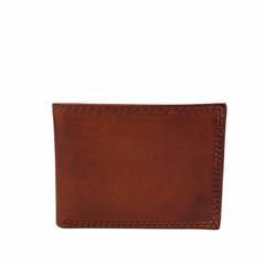 manbefair MINI WALLET MALMÖ leather reddish brown