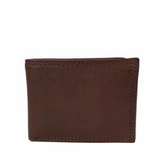 manbefair MINI WALLET MALMÖ leather dark brown