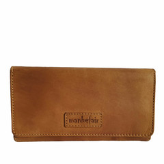manbefair LADIES PURSE EMILY leather cognac