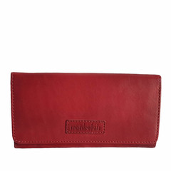 manbefair LADIES PURSE EMILY leather red