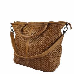 SHOPPER BAG LUCILLE Leather beige
