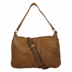 SHOULDER BAG CÉCILE Leather beige