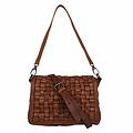 SHOULDER BAG MANON Leather reddish brown