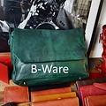 manbefair MESSENGER/LAPTOPTASCHE LOKI Leder grün (B-Ware)