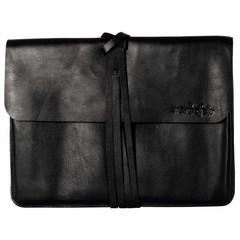 BRIGHTON LAPTOP BAG black leather